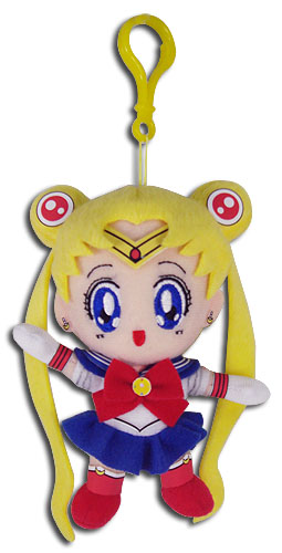 Sailor Moon - Sailor Moon 5'' Plush Keychain, an officially licensed product in our Sailor Moon Key Chains department.