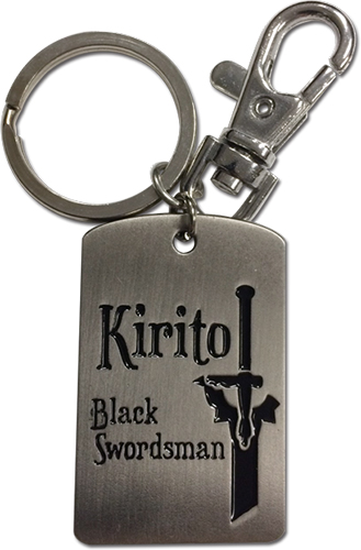 Sword Art Online - Black Swordsman Keychain, an officially licensed product in our Sword Art Online Key Chains department.