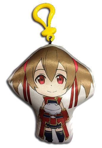 Sword Art Online - Silica Plush Keychain 4''h officially licensed Sword Art Online Key Chains product at B.A. Toys.