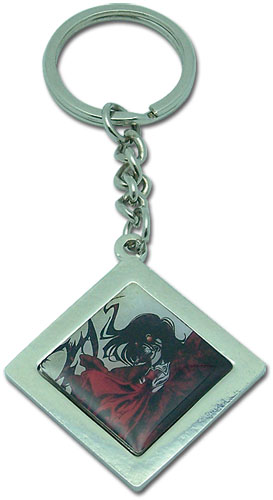 Hellsing Ova Alcucard Metal Keychain, an officially licensed product in our Hellsing Key Chains department.