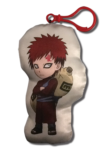 Naruto Shippuden - Gaara Plush Keychain, an officially licensed product in our Naruto Shippuden Key Chains department.