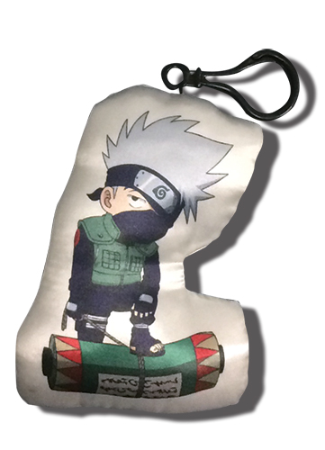 Naruto Shippuden - Kakashi Plush Keychain, an officially licensed product in our Naruto Shippuden Key Chains department.