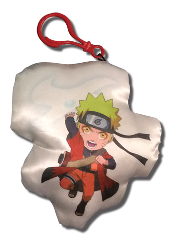 Naruto Shippuden - Naruto Sage Mode Plush Keychain, an officially licensed product in our Naruto Shippuden Key Chains department.