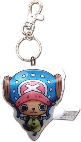 One Piece - Sd Chopper Plush Keychain officially licensed One Piece Key Chains product at B.A. Toys.
