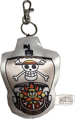 One Piece - Sd Thousand Sunny Plush Keychain officially licensed One Piece Key Chains product at B.A. Toys.