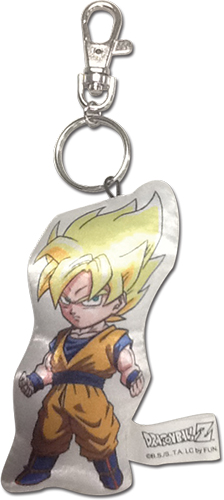 Dragon Ball Z - Sd Super Saiyan Goku Plush Keychain, an officially licensed product in our Dragon Ball Z Key Chains department.