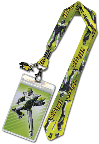 Tiger & Bunny Wild Tiger Lanyard, an officially licensed product in our Tiger & Bunny Lanyard department.