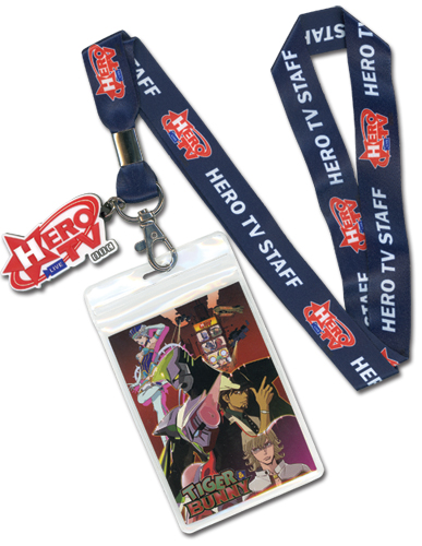 Tiger & Bunny Hero Tv Cellphone Lanyard, an officially licensed product in our Tiger & Bunny Lanyard department.