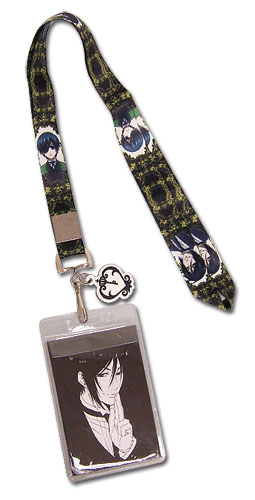 Black Butler 2 Sebastian & Ciel Lanyard, an officially licensed Black Butler product at B.A. Toys.