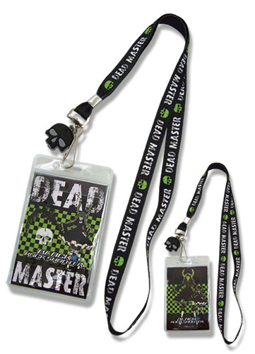 Black Rock Shooter Dead Master Lanyard, an officially licensed Black Rock Shooter product at B.A. Toys.