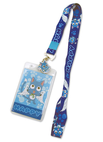 Fairy Tail Happy Lanyard, an officially licensed Fairy Tail product at B.A. Toys.