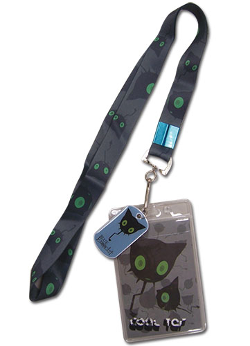 Blue Exorcist Coal Tar Lanyard officially licensed Blue Exorcist Lanyard product at B.A. Toys.