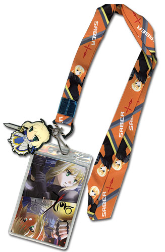 Fate Zero - Saber Lanyard officially licensed Fate/Zero Lanyard product at B.A. Toys.