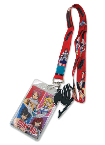 Fairy Tail Group Lanyard, an officially licensed Fairy Tail Lanyard