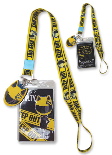 Durarara!! Celty Lanyard, an officially licensed Durarara!! product at B.A. Toys.