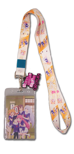Oreshura Chiwa Lanyard, an officially licensed product in our Oreshura Lanyard department.