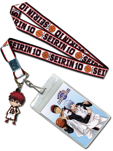 Kuroko's Basketball - Taiga Lanyard, an officially licensed product in our Kuroko'S Basketball Lanyard department.