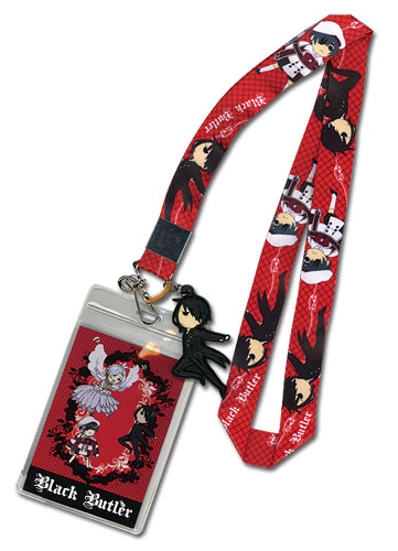 Black Butler - Sd Characters Lanyard officially licensed product at B.A. Toys.
