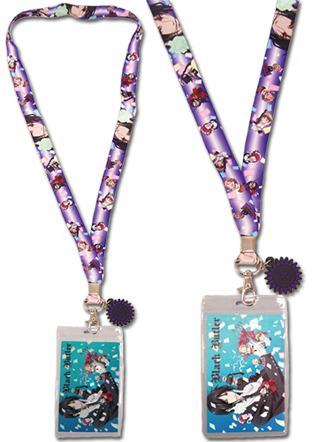 Black Butler - Celebrate Lanyard, an officially licensed Black Butler Lanyard