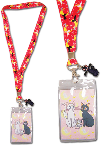 Sailor Moon - Cat Guardians Lanyard, an officially licensed product in our Sailor Moon Lanyard department.