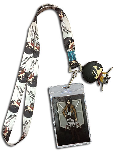 Attack On Titan - Mikasa Lanyard, an officially licensed product in our Attack On Titan Lanyard department.