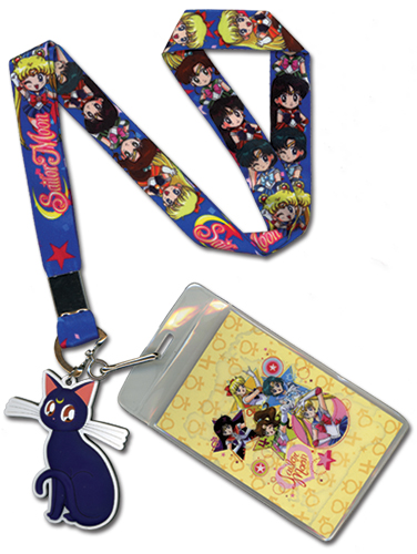 Sailor Moon - Sd Main Girls Lanyard, an officially licensed product in our Sailor Moon Lanyard department.