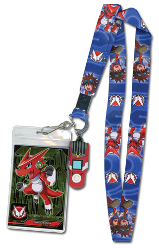 Digimon - Mikey And Shoutmon Lanyard, an officially licensed Digimon Lanyard