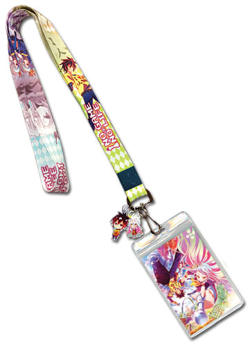 No Game No Life - Sora & Shiro Lanyard, an officially licensed product in our No Game No Life Lanyard department.