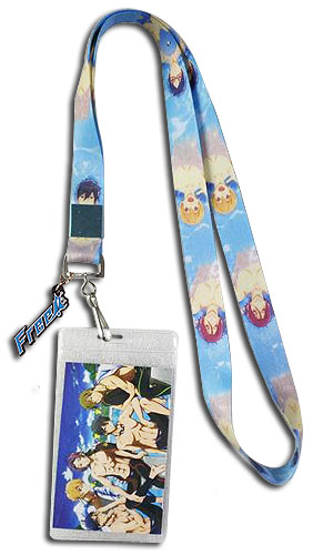 Free! - Group Swimming Lanyard, an officially licensed product in our Free! Lanyard department.