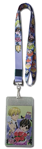 Ouran H.S. Host Club - Purple Lanyard, an officially licensed product in our Ouran High School Host Club Lanyard department.