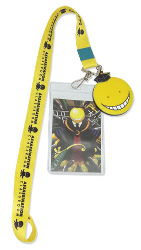 Assassination Classroom - Koro Sensei Lanyard, an officially licensed product in our Assassination Classroom Lanyard department.