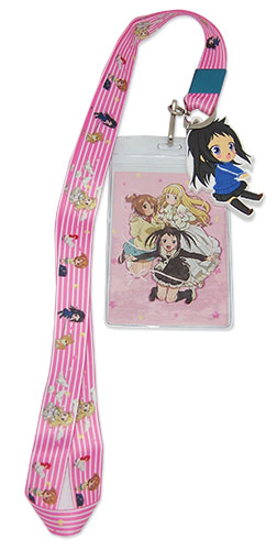 Soul Eater Not! - Pink Background Lanyard, an officially licensed product in our Soul Eater Not! Lanyard department.