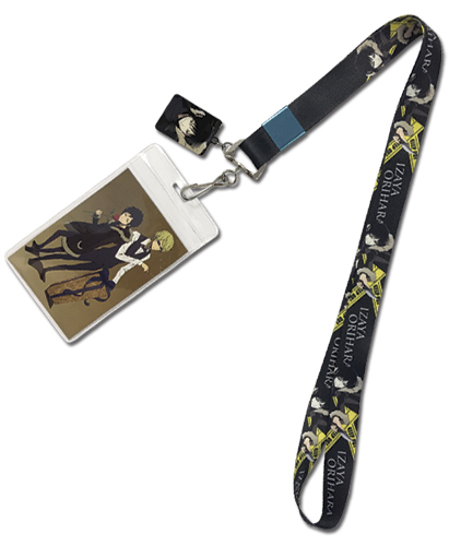 Durarara X2 - Izaya Lanyard, an officially licensed Durarara!! product at B.A. Toys.