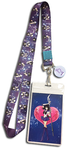 Sailor Moon S - Sailor Saturn Lanyard, an officially licensed product in our Sailor Moon Lanyard department.