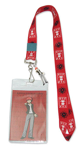 Assassination Classroom - Karma Lanyard, an officially licensed product in our Assassination Classroom Lanyard department.