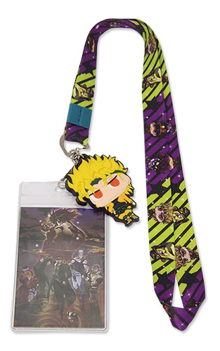 Jojo - Jotaro & Dio Lanyard, an officially licensed product in our Jojo'S Bizarre Adventure Lanyard department.