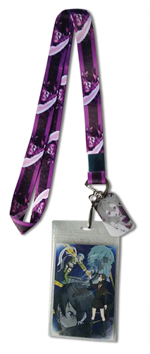 Sword Art Online Ii - Kirito Lanyard, an officially licensed product in our Sword Art Online Lanyard department.