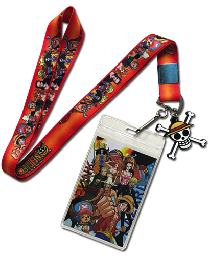 One Piece - Gradation Background Lanyard, an officially licensed product in our One Piece Lanyard department.