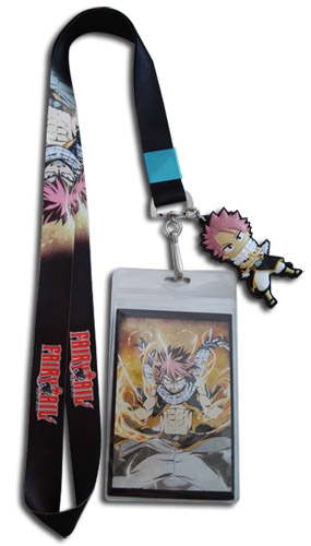 Fairy Tail - Fiery Dragon Natsu Lanyard, an officially licensed product in our Fairy Tail Lanyard department.