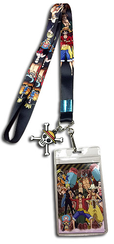 One Piece - Straw Hat Crew Line-Up Lanyard, an officially licensed product in our One Piece Lanyard department.