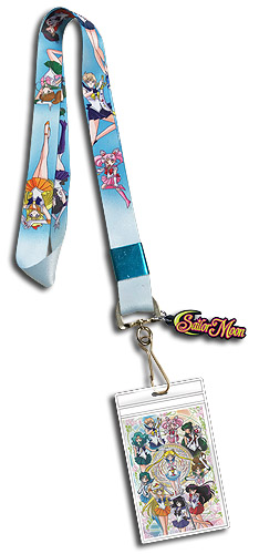 Sailor Moon S - Sailor Soldiers Line-Up Lanyard, an officially licensed product in our Sailor Moon Lanyard department.