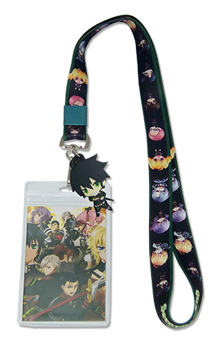 Seraph Of The End - Sd Group Lanyard, an officially licensed product in our Seraph Of The End Lanyard department.