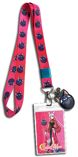 Sailor Moon R - Black Lady Lanyard, an officially licensed product in our Sailor Moon Lanyard department.