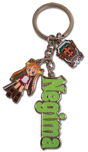 Negima Asuna Metal Key Chain, an officially licensed product in our Negima Key Chains department.
