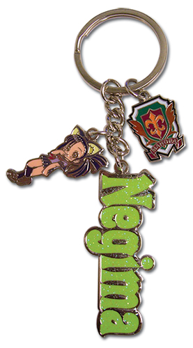 Negima Setsuna Metal Key Chain, an officially licensed product in our Negima Key Chains department.