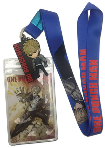One Punch Man - Genos Lanyard, an officially licensed product in our One-Punch Man Lanyard department.