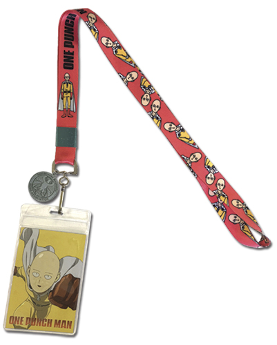 One Punch Man - Saitama And Oppai Lanyard, an officially licensed One-Punch Man product at B.A. Toys.