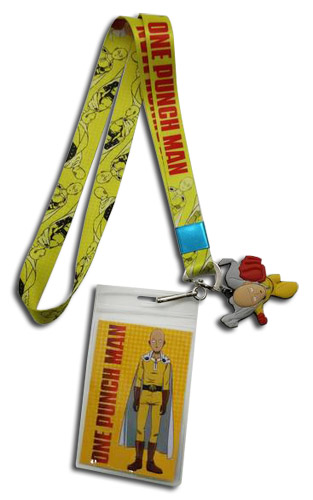 One Punch Man - Saitama All Over Lanyard, an officially licensed product in our One-Punch Man Lanyard department.