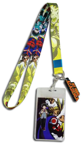My Hero Academia - Deku & All Might Lanyard, an officially licensed product in our My Hero Academia Lanyard department.