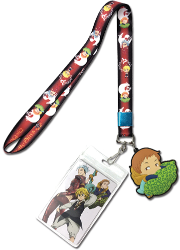 The Seven Deadly Sins - Meliodas, Ban & King Lanyard, an officially licensed product in our The Seven Deadly Sins Lanyard department.